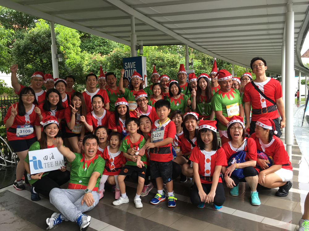 Santa Run for Wishes 2016